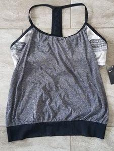 Nike Racerback Tankini Swimsuit 3x Plus